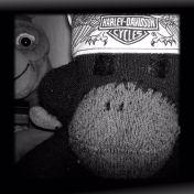 Axel Sock Monkey and ET 15052012